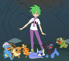 Spike's Pokemon Team by SelenaEde