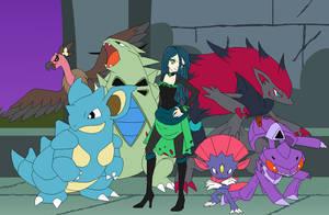 Team Chaos Chrysalis by SelenaEde