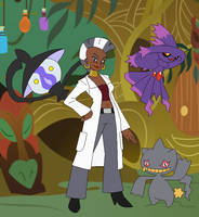 Pokemon Professor Zecora by SelenaEde