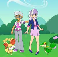 Pokemon Trainers - CMC Rivals by SelenaEde
