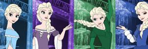 Elsa Color Spectrum by SelenaEde