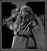 Personal piece_ Dwarf Palgrim Glorinson by DorotheeWittstockArt