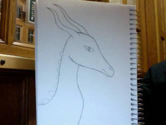 Dragon practice by slyvia115