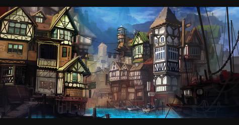 Tudor River City by ScottPellico