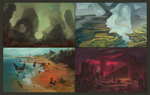 Environments by ScottPellico