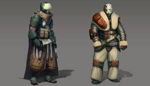 CGMA character concepts by ScottPellico