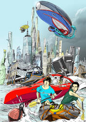 Kim Stanley Robinson New York - 2140 by niceLK
