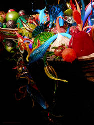 Chihuly Glass Garden boats by artamusica