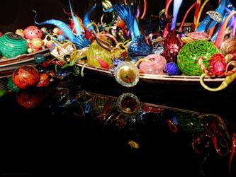 Chihuly Glass Garden boats 2 by artamusica