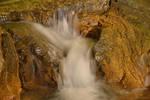 St. Beatus cave small waterfall by artamusica