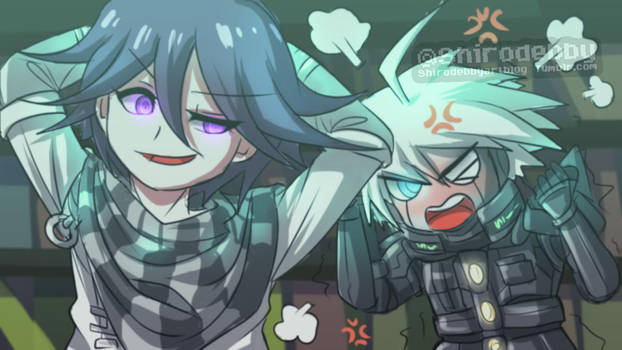 Stop bullying Kiibo , Ouma XD by shirodebby