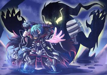 Shigaraki in BNHA Fantasy AU aayyy by shirodebby