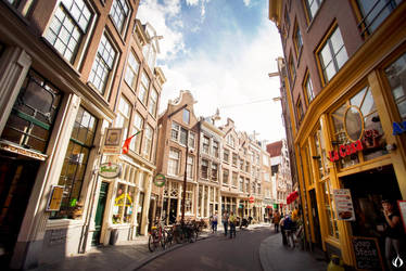 Streets of Amsterdam by ESPECTR0