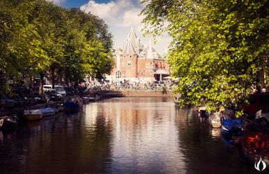castle near the water by ESPECTR0