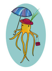 Fabulous Octopus by Klitamnestra