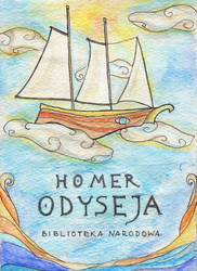 Odyssey - book cover by Klitamnestra