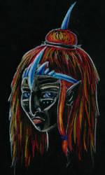 Negative witch by Klitamnestra