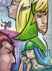 Ocarina of Time by emilycrossing