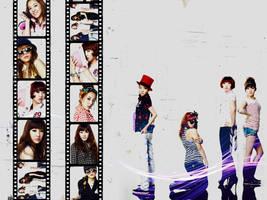 2NE1, by TsukiNita