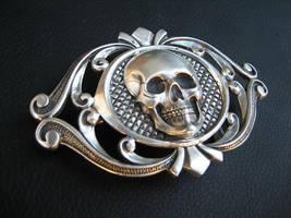 Deadmans belt buckle by flintlockprivateer
