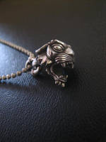 Silver panther pendant by flintlockprivateer