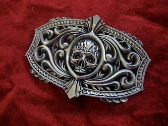 The Victory belt buckle. by flintlockprivateer