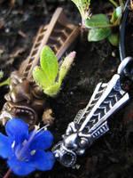 Mini Tiki Pendant by flintlockprivateer