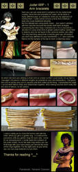 MAGI - Judar's arm bracelets WIP - by Yamane