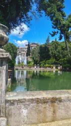 Fontana Villa D'Este by wale97