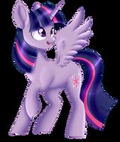Princess Twilight Sparkle by beashay