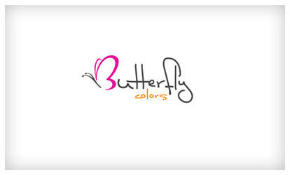 butterfly colors logo by kissorsa