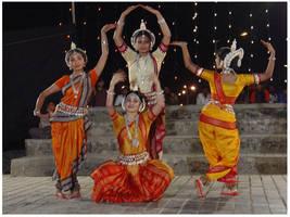 Odissi Dancers III by ScorpionChild