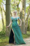 Elsa Frozen Fever by IlunaNeko