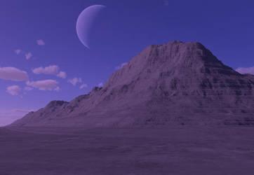 Purple Moon by Sinneahtes