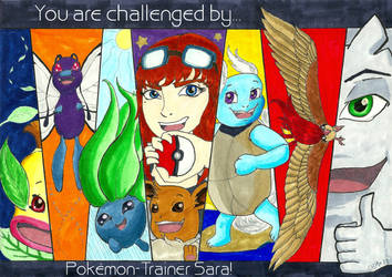 You are challenged by Pokemon Trainer Sara! (SS) by A-KTheLittleFairy