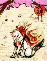 Okami: Celestial Brush God by X-babe