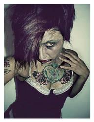 Zombie Make-Up by kristi-leegibson