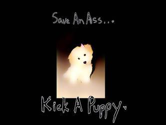 Kick A Puppy by digitalhigh
