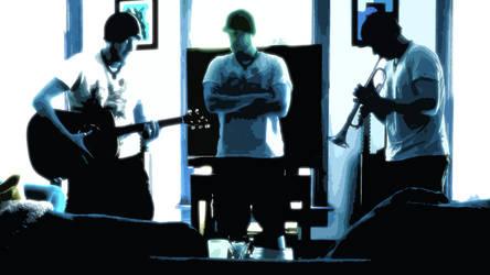 One Man Band Cutout Version by digitalhigh