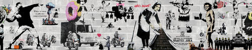 Banksy Collage by digitalhigh