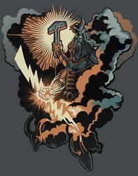 Thor, God of Thunder by AlexandreaZenne