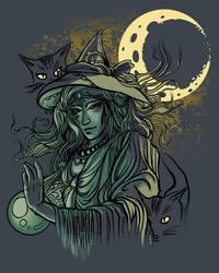 Witch by AlexandreaZenne
