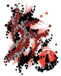 Red Maple by AlexandreaZenne