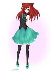 Anime Kitty Girl~ Mew by higurashi-9