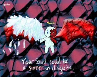 Saint or Sinner? by higurashi-9