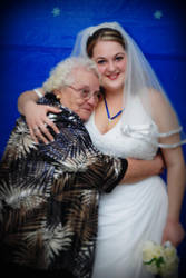 Bride and Grandmother by paintedfingers