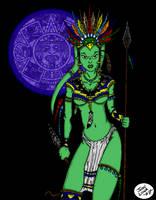 Aztec Twi'lek by JohntheSilver