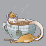Hey ! That was my tea ! by ViperidaeGraphics