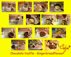 tutorial - Gingerbread truffle by Gwendelyn