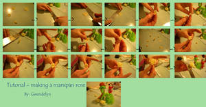 marsipan rose tutorial by Gwendelyn